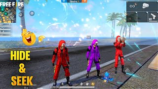 Clash Squad HIDE and SEEK with Criminals Funny Gameplay - Garena Free Fire