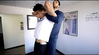 ADJUSTING 6'10 BASKETBALL PLAYER KRIS LONDON!