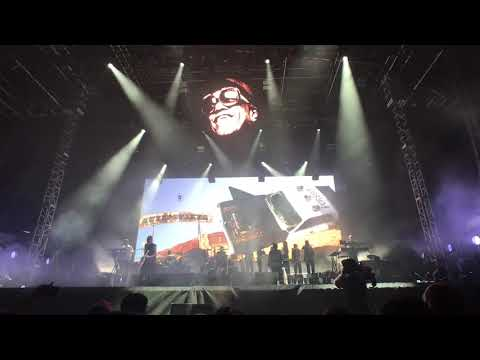 Gorillaz live at III Points Festival - Mana Wynwood Convention Center - Miami, FL 10/13/2017