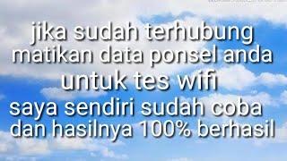 Download Cara bobol WiFi tanpa root 100% berhasil