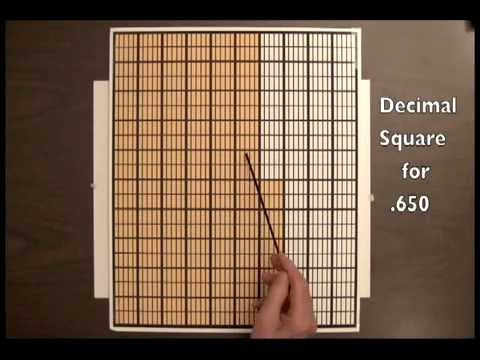 Decimal Squares Brief Introduction - YouTube