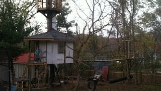 Building My Children A Tree House Part 6