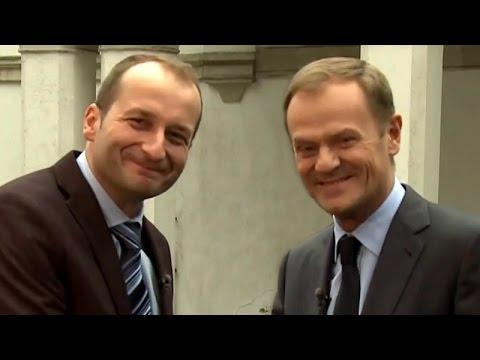 Ostatnie posiedzenie rządu- Donald Tusk i Robert Górski - Kabaretowa Noc Listopadowa 2014