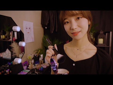 ◼Backstage Makeup & Hair Styling◼ ASMR