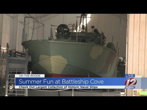 On the Rhode: Battleship Cove
