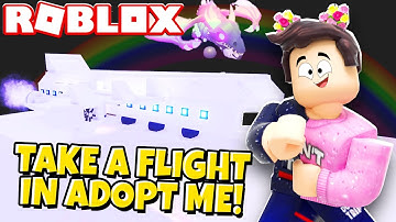 Hop on a Plane and Fly in Adopt Me! (Roblox)