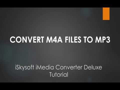How to Convert M4A to MP3 on Mac