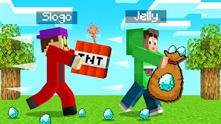STEAL The DIAMONDS Or EXPLODE! (Minecraft)