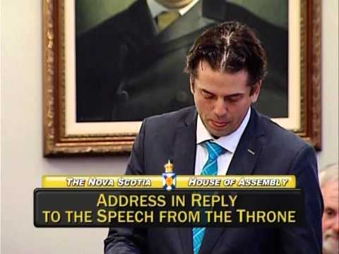 Joachim Stroink, MLA Halifax Chebucto: Address in Reply to the Speech from the Throne