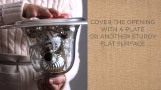 Tips To Stylishly Decorate With Glass Cloches | Pottery Barn