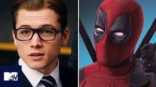 Taron Egerton Wants A Kingsman x Deadpool Crossover | MTV Movies