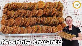 Abobrinha Crocante Assada Deliciosa