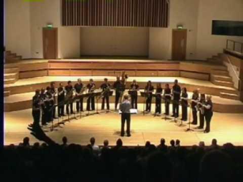 Bach Toccata - National Saxophone Choir