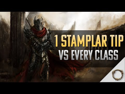 1 stamina templar tip for every class eso pvp youtube