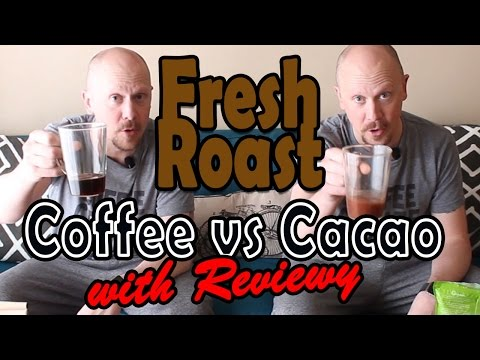 Freshly Roased Coffee vs Cacao Beans (Amazon + Local Review)
