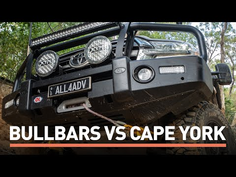 These TOUGH BULLBARS are fitted to the 79 Series, the 200 & the Isuzus!