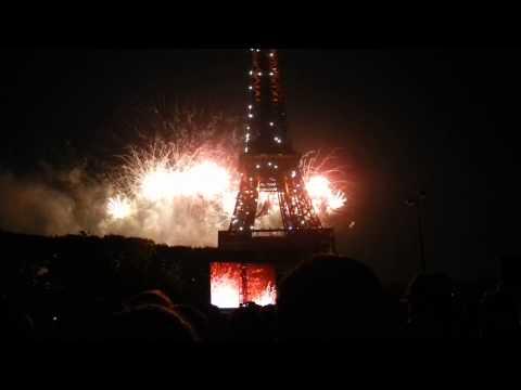 Bastille Day 2013 - Paris, France Fireworks