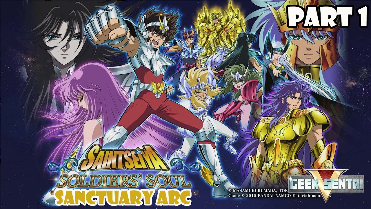 Saint Seiya Soldiers' Soul (PS4, 1080p 60fps) - Story Mode: Sanctuary Arc