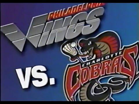 NLL MILL Era 1996 Charlotte Cobras @ Philadelphia Wings