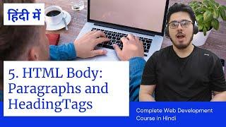 HTML Tutorial: Headings & Paragraphs   Web Development Tutorials #5