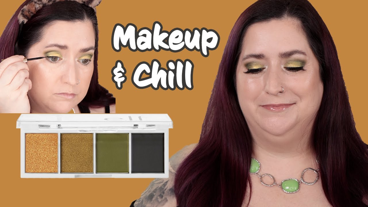 MAKEUP & CHILL EP11 | Elf Hot Jalepeño Bite Size Eyeshadow Palette