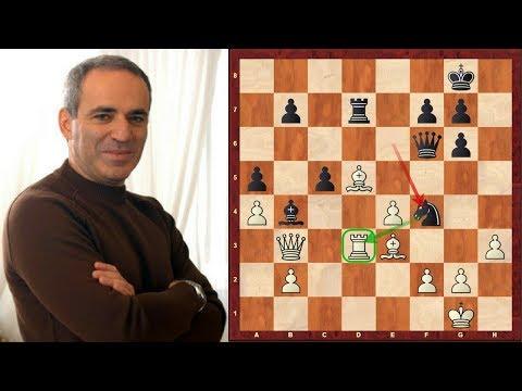 Amazing Game: Garry Kasparov vs Viswanathan (Vishy) Anand ...