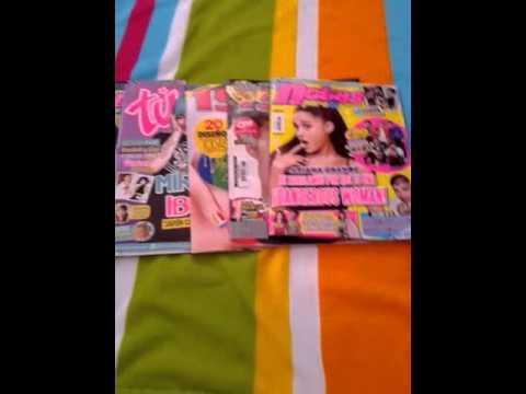 Magazine Haul + Poster trade