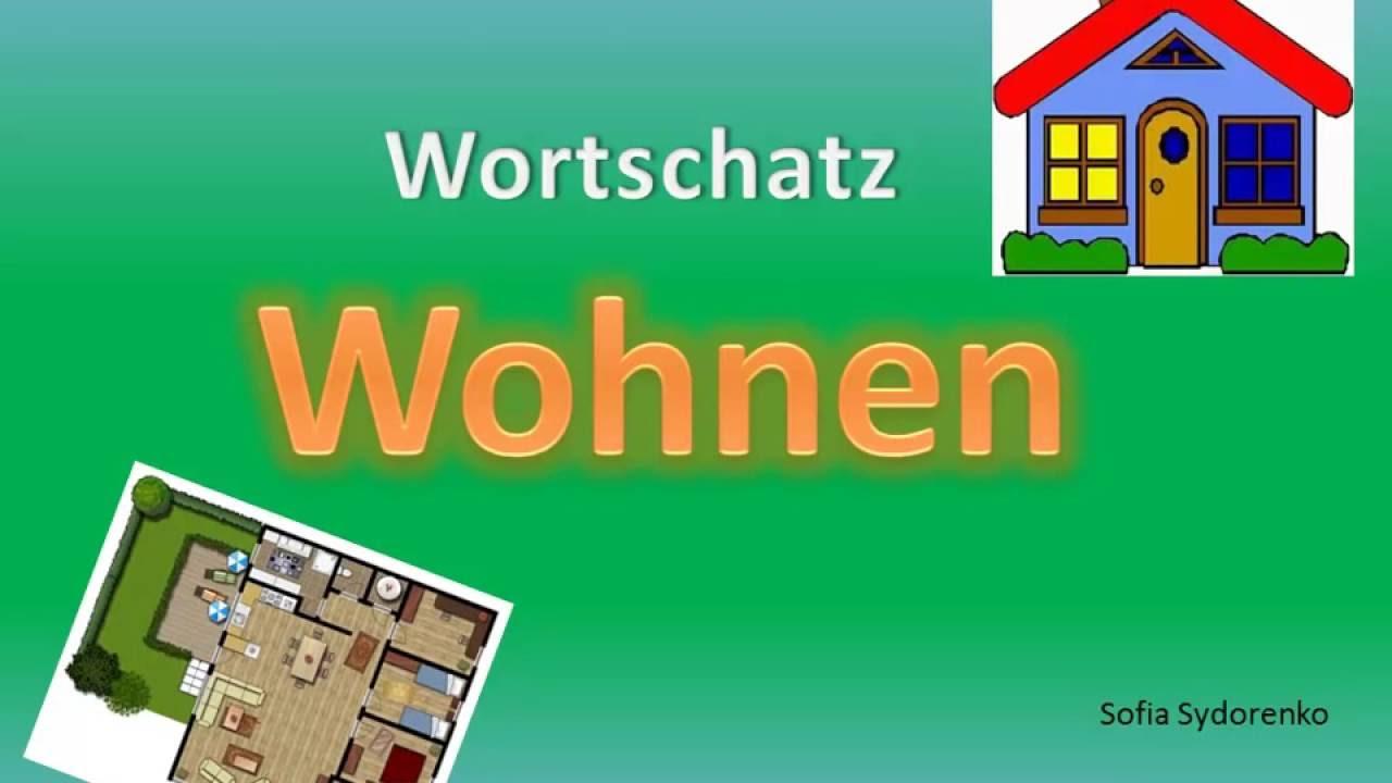 Wortschatz Wohnen Deutsch A20