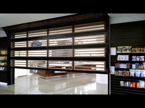 Renlita Sovereign Vertical Folding Door - YouTube