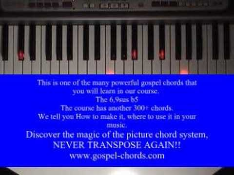 Tutorial How To Use The Powerful Gospel Chord 69susb5 Youtube