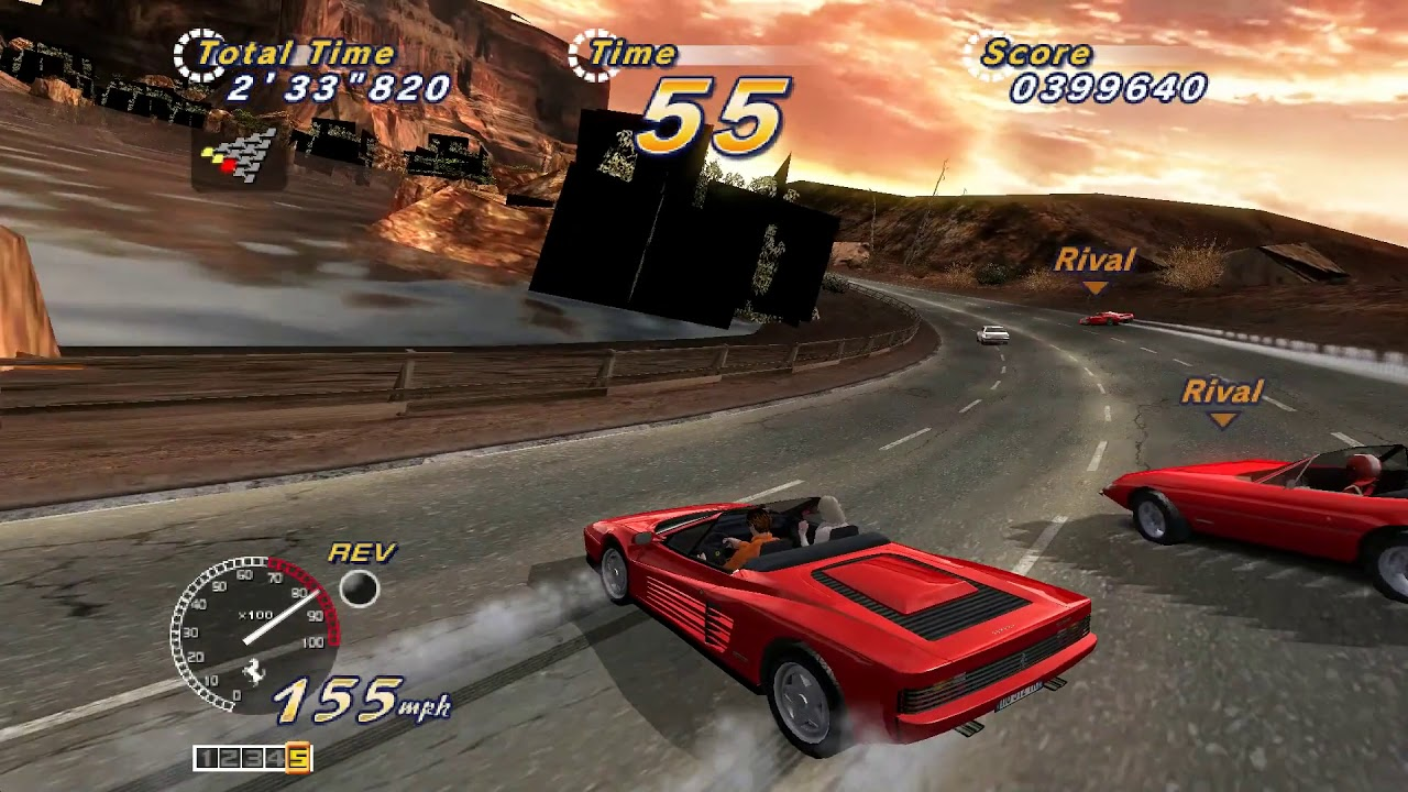 OutRun 2 Special Tours Deluxe TeknoParrot 1 0 0 140