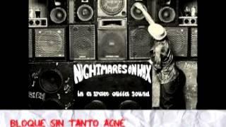 "Bloque con acné- Nahuel Heinzmann presenta ""Nightmares On Wax"""