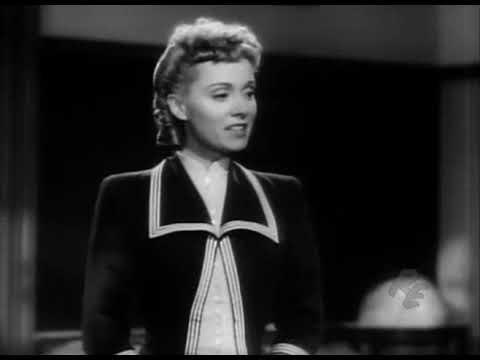 Martha Scott - Cheers for Miss Bishop - 1941