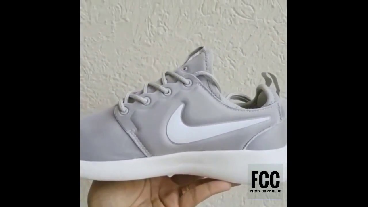 Branded First Copy Nike Roshe (Grey) casual shoes