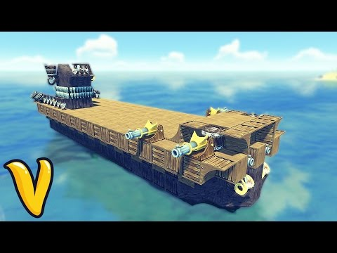 AIRCRAFT CARRIER IN THE LAST LEVIATHAN!! :: The Last Leviathan