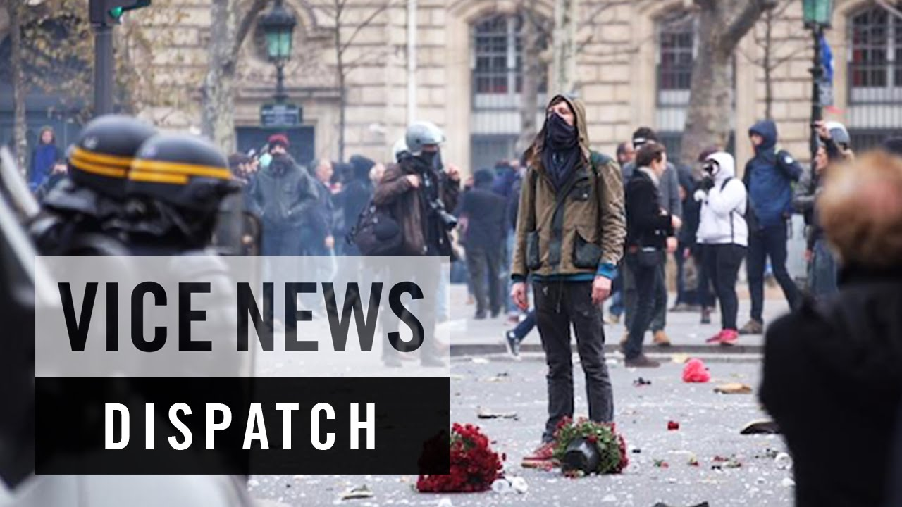 Police Clash With Protesters in Paris COP21 – Climate Emergency (Dispatch 1)