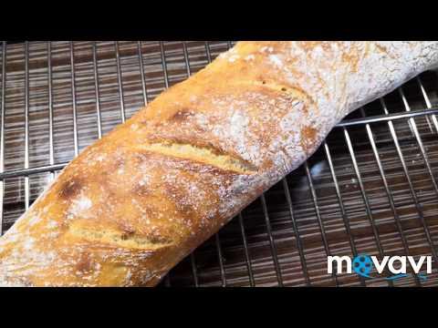Хлеб без замеса / Багет без замеса с хрустящей корочкой /Irinochka HandMade