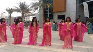 School Girls Performing @ Khalifa University 27-11-2012