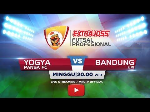 PANSA FC (YOGYAKARTA) VS UPI (BANDUNG) - (FT : 1-4) Extra Joss Futsal Profesional 2018