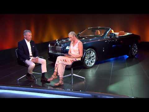 Rolls-Royce Dawn With Jodie Kidd