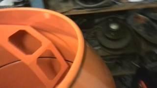 Обзор бетономешалки Skiper CM 140 после сборки