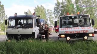 ДТП на сланцевском перекрестке: обе автомашины эвакуированы.