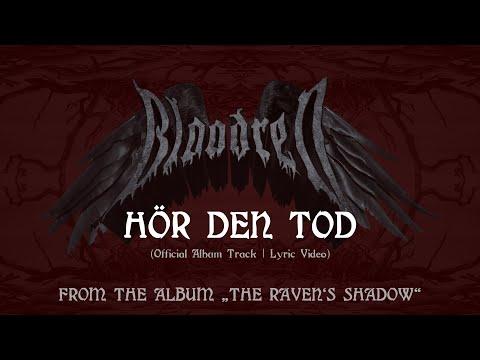 BLOODRED - Hör Den Tod (Official Lyric Video | Blackened Death Metal)