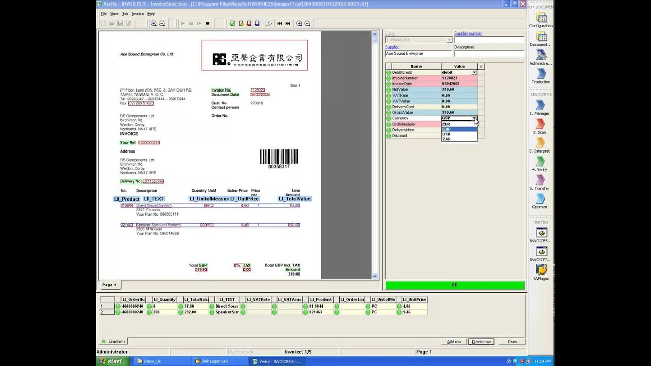 Readsoft Invoice Processing And Accounts Payable Automation - Invoice automation software