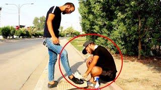 فلم قصير (مأساه الفقير العراقي )صاحب عزة النفس(ماسح الاحذية)لكن ماذا حدث له لايفوتكم