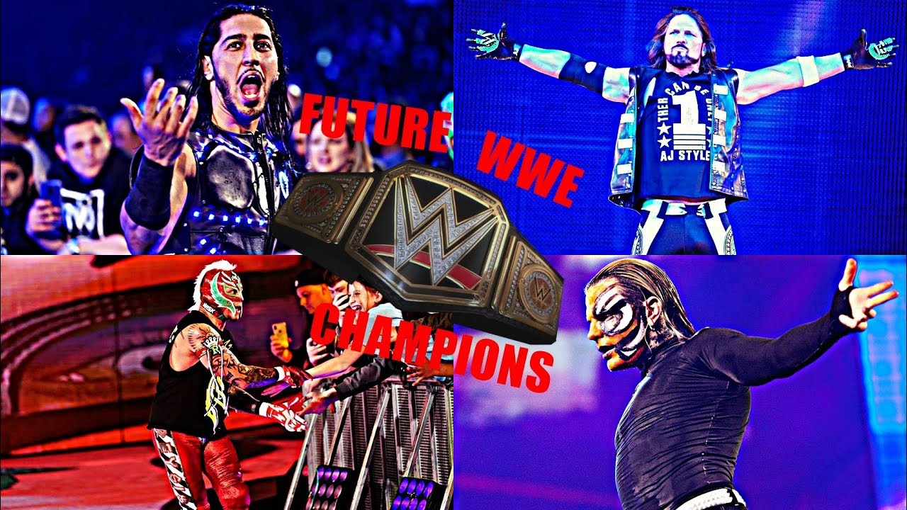 TOP 10 FUTURE WWE CHAMPIONS ''2019''