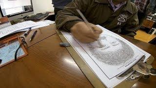 #68 Sketch artist - Living Atlas Chile