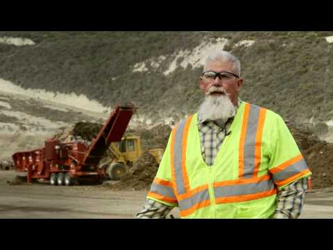 Cat® C18 Industrial Engine Video Profile - Morbark 3800 Wood Chipper.