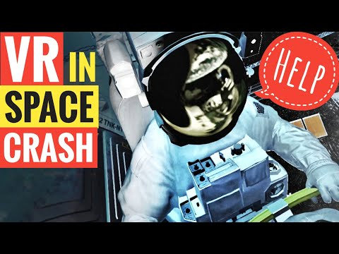 How to be an VR Astronaut – Space crash by asteroids – Oculus Rift Spacewalk Virtual Reality game