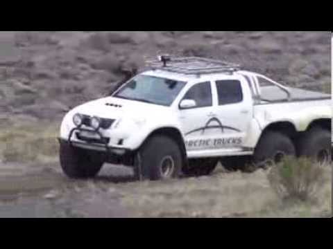 Iceland 2014 Toyota Hilux 6x6 Snow Driving Doovi